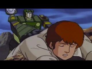 Трансформер нагнул - Ну как Спайк двигатель уже работает  Transformers G1