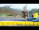 [ENG. SUB] 130929 Minwoo Sanghun @ Let's Go! Dream Team II : Obstacle Race on Water