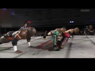 [#My1] Dragon Gate Infinity  - T-Hawk, Eita, Yosuke♡Santa Maria vs. Akira Tozawa, Ricochet, Uhaa Nation