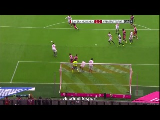 Бавария 2:0 Штутгарт | Бундеслига 2014/15 | 3-й тур