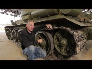 Загляни в реальный танк Т-34-85. Часть 1. В командирской рубке.
