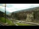 Brenner Pass- Innsbruck-Verona by EuroCity train
