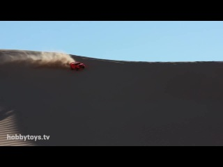 World's Biggest Aerial RC Assault - Traxxas Invades Glamis