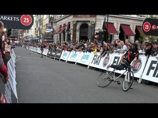 Schwalbe Fixed Gear Longest Skid - London Nocturne 2011