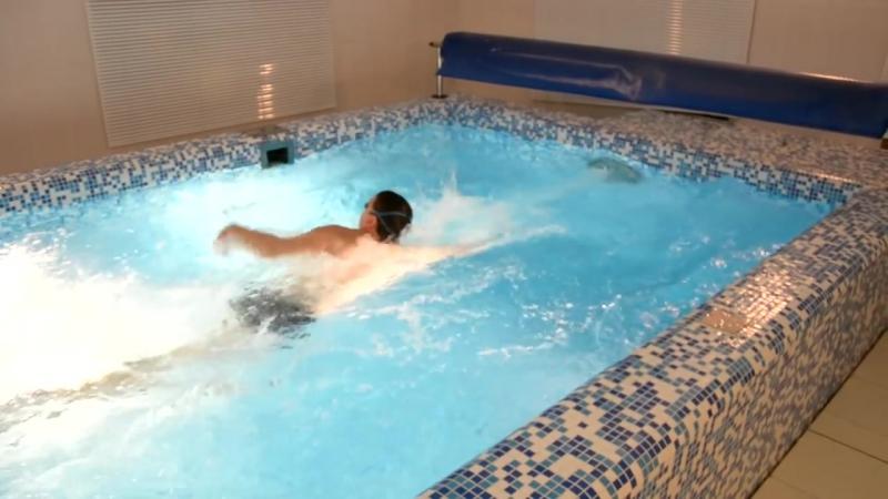 Противоток встречное течение для бассейна