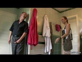 Mysonsgf.com.terry sullivan(guy's dad pretends to leave and hides in bathroom/дочь трахается с отцом парня в туалете)[group-инце