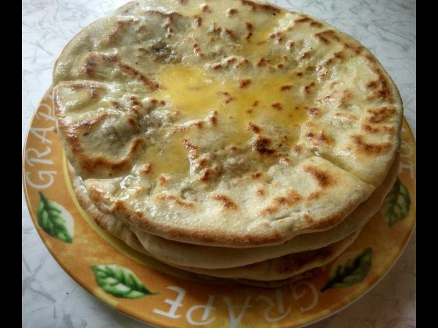 Хычин Хычин с мясом Такого Вы еще не ели Кухня Кавказа