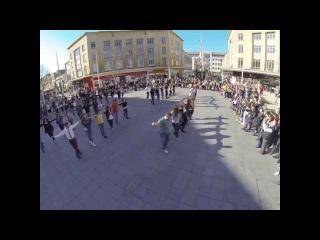 Bristol Zorba the Greek - Flash Mob Dance - Bristol March 2014