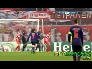 Tomáš Rosický Goal Olympiakos Piraeus 0  - 1 Arsenal