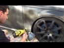 Покрытие Audi S4 черным матовым Plasti Dip