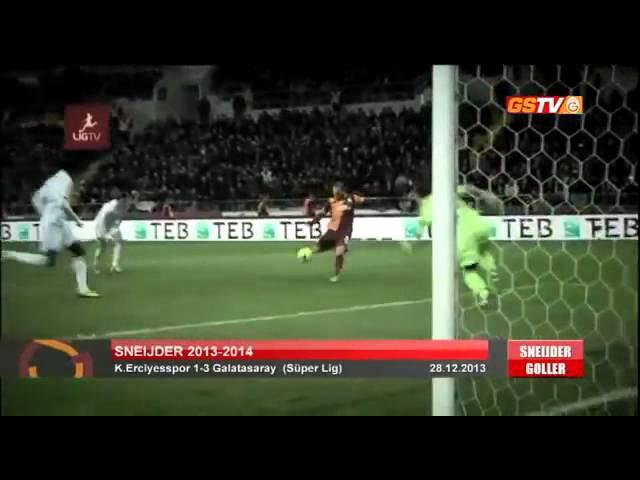 Wesley Sneijder'in Galatasaray'daki Tüm Golleri