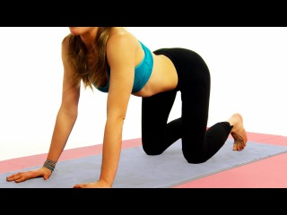 Yoga Workout - Earth Grounding Yoga Fitness Warm up Routine