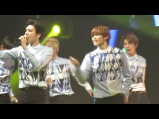 [fancam] 150117 VIXX Rock Ur Body (Hongbin focus) First Fan Party in Hong Kong
