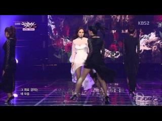 130614 Ivy - I Dance (feat. Yubin of Wonder Girls) @ Music Bank (Comeback Stage)