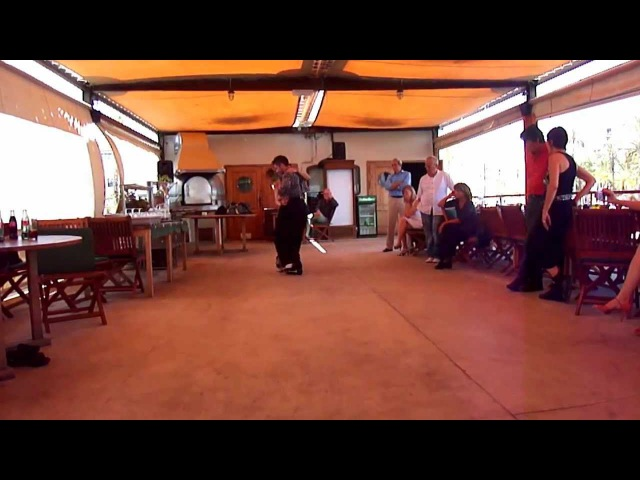 Graciela y Osvaldo Cartagena Spain 2012 Clase Canyengue y Milonga Lesson Sumary