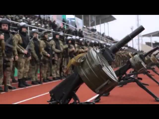 Russian Army. Chechen armed forces