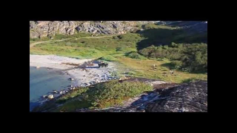 Кольский п ов Баренцево море