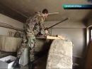 Женщина-снайпер в Сирии.