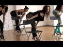 №614.1 Стрип-пластика. Танец со стулом. Юлия LUna Масаева, Москва