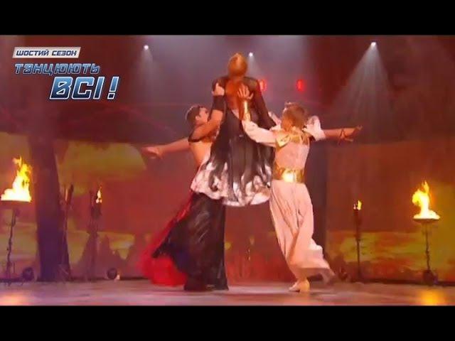 Владимир Раков Андрей и Ирина Пасадобль Первый прямой эфир Танцуют все 6 29.11.2013