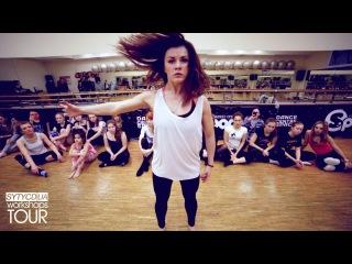 Anna Bashtova - Contemporary - SYTYCDUA WORKSHOPS TOUR (Odessa, ) (Аня Баштовая - Николенко)