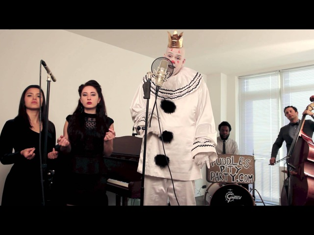 Royals - (Sad Clown With The Golden Voice) - Postmodern Jukebox Lorde Cover ft. Puddles Pity Party