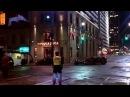 Batmobile chase on Yonge Street
