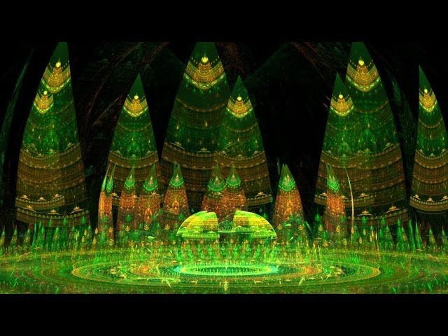 Harmonic Frequency Fractal Forest Music Video