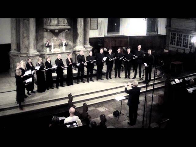 Sandström Purcell Hear my prayer O lord Mogens Dahl Kammerkor