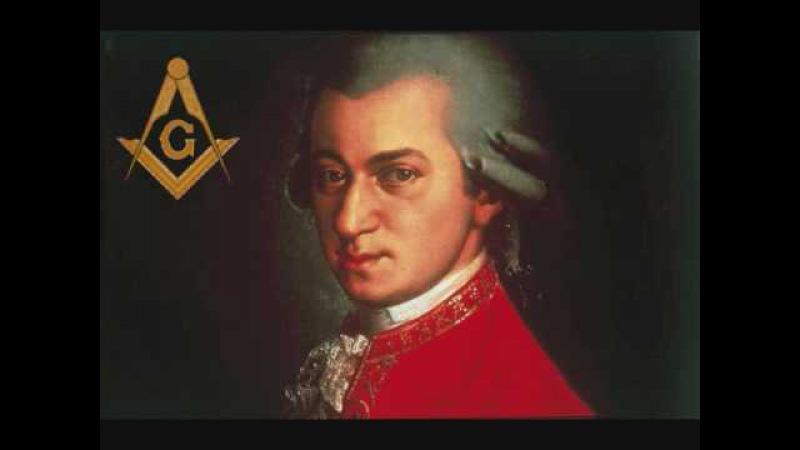 Wolfgang Amadeus Mozart Freimaurer Kantata Freemason music