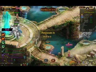 League of Angels Level 78 Gameplay Events - Super Long Video