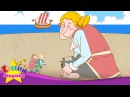 Gulliver's Travels - Let's play soccer. baseball. (Suggestion) - English famous story for Kids