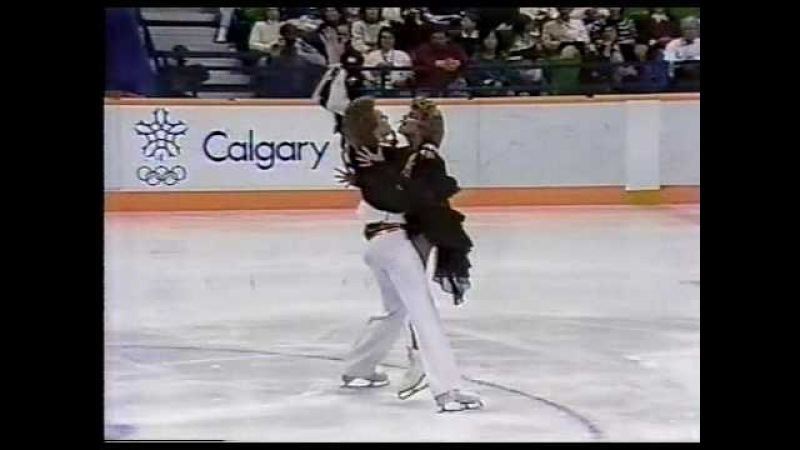 Bestemianova Bukin Бестемьянова и Букин URS 1988 Calgary Ice Dancing OSP US ABC