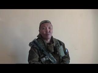 ДНР Ополченец Ваха из Бурятии за что воюет из бат Ольхона 14 04 War in Ukraine