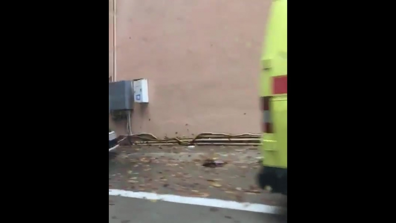 Авария на выезде из тоннеля на трассе Адлер - Красная Поляна