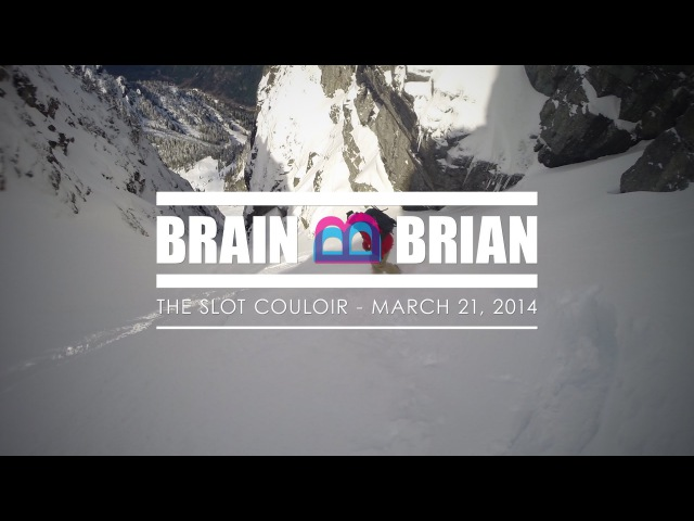 Splitboarding The Slot Couloir on Snoqualmie Mtn Alpental Backcountry Snoqualmie Pass