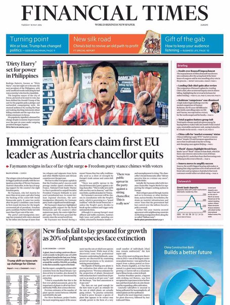 Financial Times Europe  May 10 2016