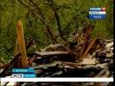 Аварийные дома горят в Шелехове, Вести-Иркутск