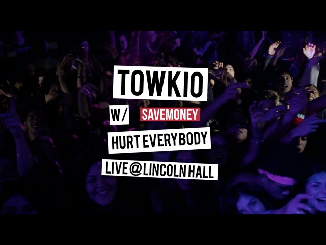 Towkio W/ Savemoney Hurt Everybody Live at Lincoln Hall, Chicago