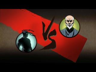 Shadow Fight 2 -Тень против Сенсея! - Самая крутая Магия! - ВортексоТитан