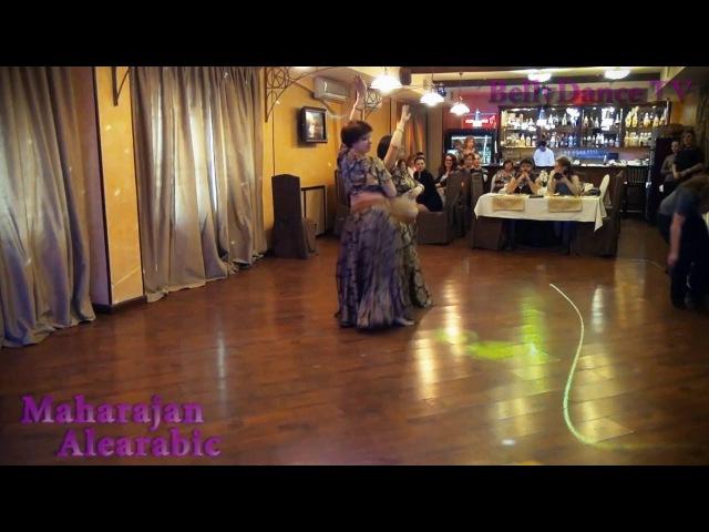 Bellydance TV - Maharajan Alearabic - Юлия и Наталья