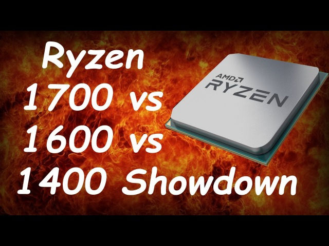 Ryzen 1700 vs 1600 vs 1400 Showdown - Which Is The Best Value