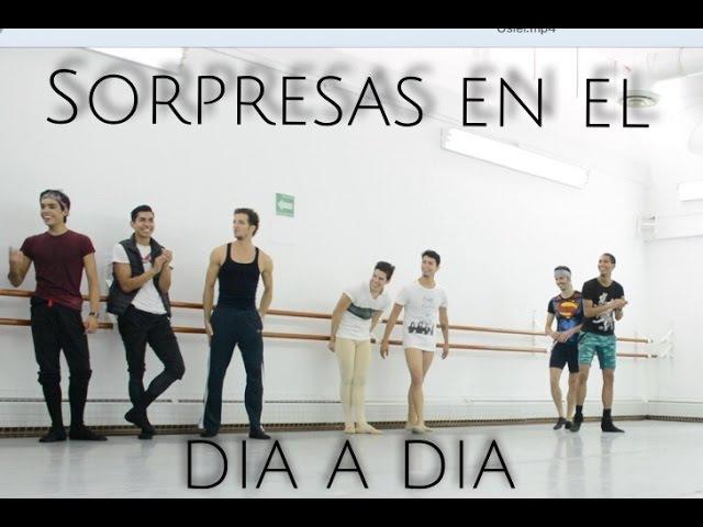 Osiel Gouneo en la Compañia Nacional de Danza