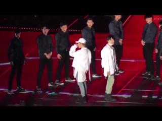 [HD FANCAM] 161113 BTS Suga  Jimin (YoonMin) - TONY MONTANA #BTS3rdMuster Day2