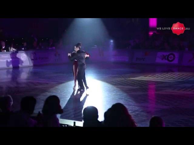 WLD Fernando Gracia and Sol Cerquides. Kremlin Gala . Showcase. Tango.