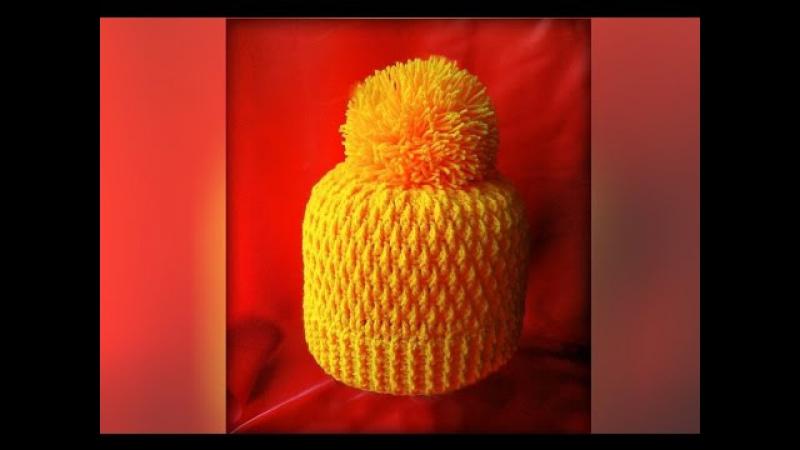 Как связать шапку крючком. Crochet hat » Freewka.com - Смотреть онлайн в хорощем качестве