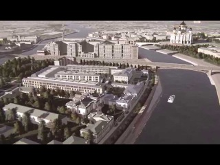 Концепция многофункциональной застройки на Софийской набережной, Sergey Skuratov Architects.