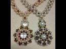 Pearl Wheel Necklace Tutorial