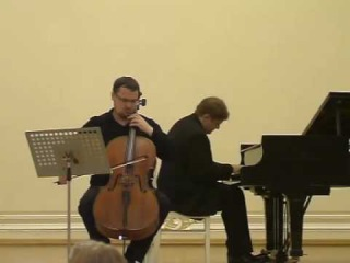 Dmitry Kouzov, Peter Laul: Shostakovich Cello Sonata 1st Mvt. Part 1