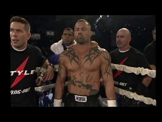 Bob Sapp vs Kimo fight video k 1 mma muay thai fighting 2013 year